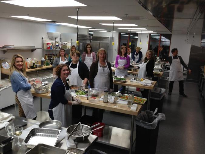 Fun Cooking Competition at L'Ecole Culinaire