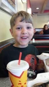 Steve's son, Brody